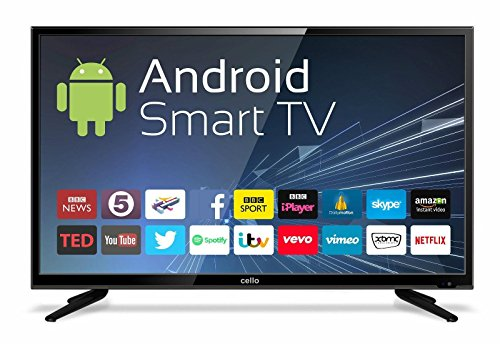 Cello C43ANSMT 43 Inch Android Smart LED TV with Wi-Fi and Freeview T2 HD
