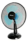 Ventilatore da tavolo Oscillante a pale Diametro 40 cm 3 velocità colore nero.