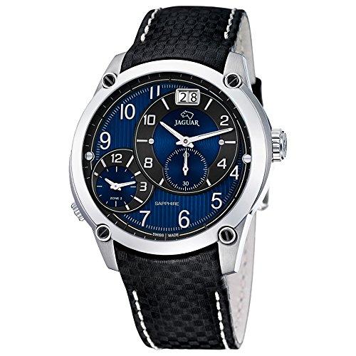 jaguar-orologio-da-polso-da-uomo-fashion-donna-analogico-cinturino-in-pelle-nero-orologio-al-quarzo-