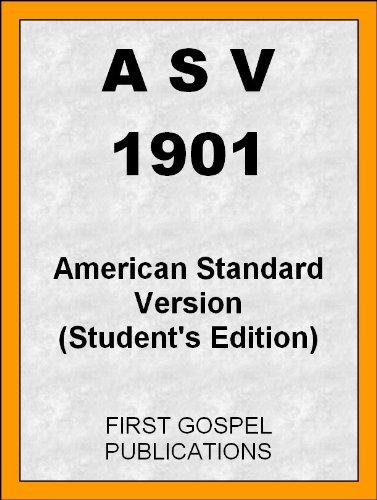 American Standard Cross (ASV 1901 American Standard Version (Student's Edition) (English Edition))