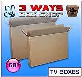 Marco de 60 a 70 pulgadas para TV LCD de doble pared/doble solapa, de plasma, caja de extracción para casa