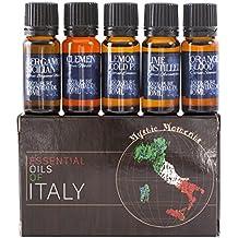 Mystic Moments Confezione Base Oli Essenziali 5x10ml Confezione Regalo Oli Italiani