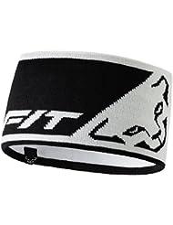 Dynafit - Leopard Logo Headband, color blanco,negro