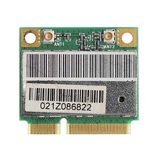 Chg AR9285 AR5B95 Mezza Altezza Mini PCI-E 150 Mbps Wireless WLAN WiFi Card  per Atheros