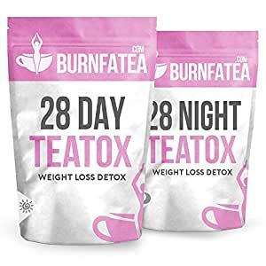 Burnfatea 28 Day Teatox Set (NO LAXATIVE EFFECT, Weight Loss Tea, Detox Tea, Slimming, Diet Tea)