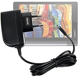 """DURAGADGET Chargeur Secteur à Prise Murale pour Lenovo Yoga Tab 3 8 (8""""), Tab 3 10 et Pro 10 tablettes 10.1"""" - Charge Rapide 2 amp et Port Micro USB"""