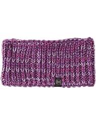 Buff Headband Knitted and Polar Rev - Cinta de pelo de fitness para mujer, color morado, talla UK: 20 cm