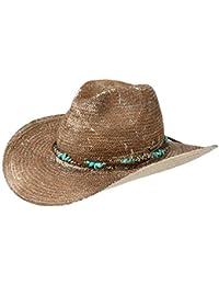 Stetson Sombrero de Paja Lillian Western by solsombrero Vaquero Sol 52e4e32de96