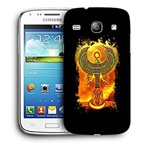Snoogg Abstract Eagle Designer Protective Back Case Cover For Samsung Galaxy Core