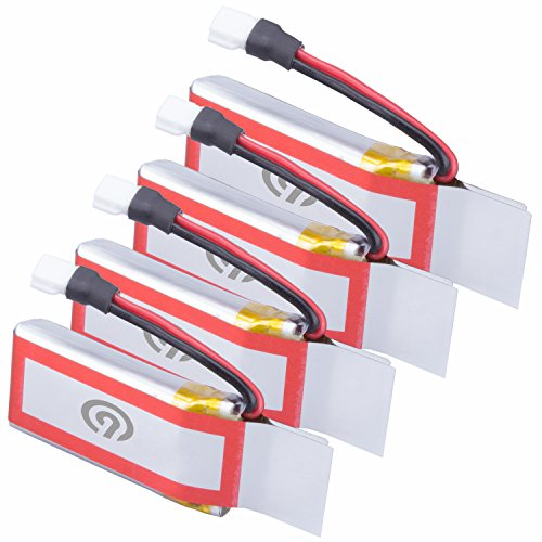 4x Original NINETEC 450mAh Ersatz Akku Batterie für Spyforce1 Mini Video Drohne - 2