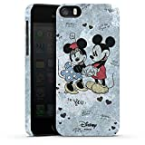 Apple iPhone SE Hülle Premium Case Cover Disney Minnie & Mickey Mouse Merchandise Geschenke