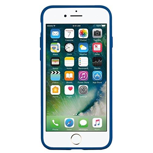 "Coque pour Apple iPhone 7 , IJIA Marron Mignon Licorne TPU Doux Silicone Bumper Case Cover Shell Housse Etui pour Apple iPhone 7 (4.7"") skyblue"