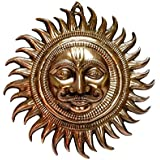 Copper Polish Wall Hanging- Sun face