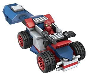 Mega Bloks 91324 The Amazing Spiderman Spider-Man Racer With Launcher