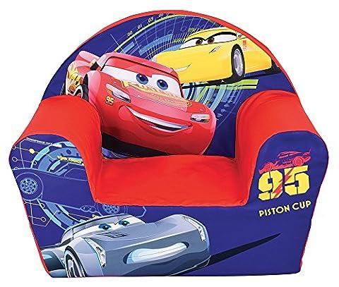 Fun House 712632 CARS Fauteuil Club en Mousse pour Enfant