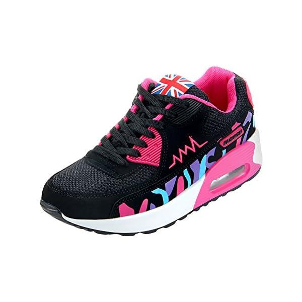 best website 50d41 e9e5e PADGENE Femme Baskets Course Gym Fitness Sport Chaussures Air ...