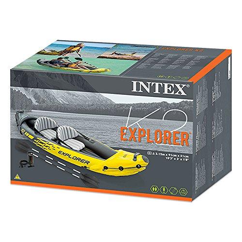 Intex Kajak Explorer K2 für 2 Personen im Test + Preis-Leistungsvergleich - 10