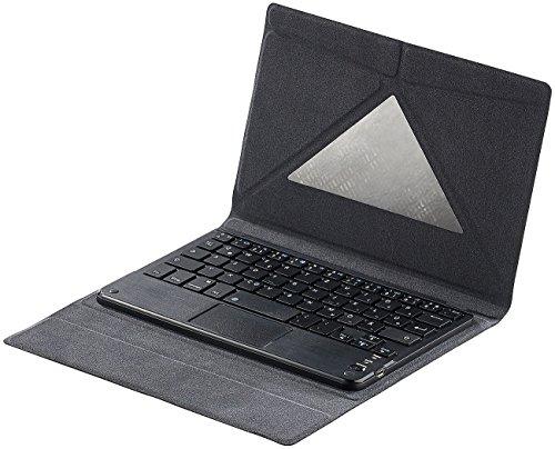 Maus Mini Ipad (GeneralKeys Zubehör zu Bluetooth Tastatur für Smartphone Tablet PCs: Tastatur-Schutzcover mit Bluetooth & Touchpad für 8
