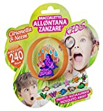 Brand Italia Deet free Mosquito Away/Repellent Natural Band KIDS_hypoallergenic_ 240 hrs