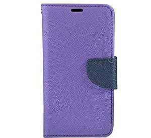 Piloda Imported Mercury Fancy Wallet Dairy Flip Case Cover For Lenovo A7000