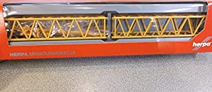 Herpa - 076 623 - De L 2X Pilón de Pluma de grúa Liebherr Seguimiento para LR 1600/2 - Liebherr