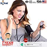 Best Blood Pressure Monitors - Dr Trust (USA) Sphygmomanometer Aneroid Type Manual Blood Review