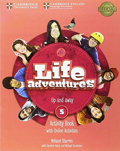 Life Adventures Level 5 Activity Book with Home Booklet and Online Activities por Melanie Starren
