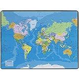 Esselte - Sous mains carte du Planisphère - 40x53cm