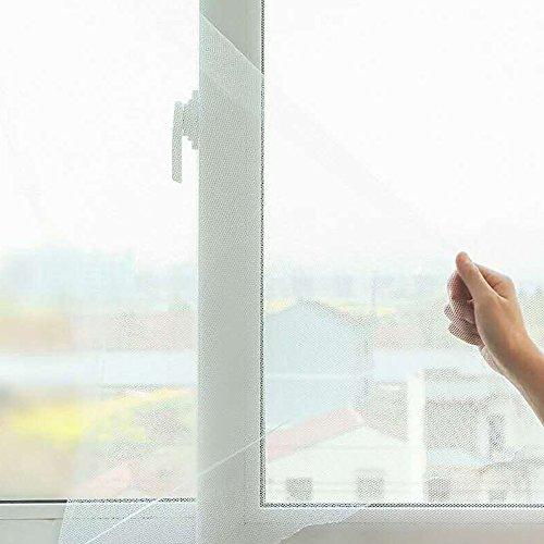 flyzzz Polyester-Magic-Bildschirm Fenster, Insektenschutz Fly Bug Moskitonetz Mesh Displayschutzfolie Fenster Vorhang, Größe: 150x 180cm (Approach 150x 180cm) (Bildschirm-fenster-hardware)