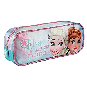 Disney Frozen- Estuche portatodo Rectangular (Artesanía Cerdá 2100001931)