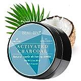 Sbiancante Denti, Carbone Attivo, Polvere Denti, Teeth Whitening, Charcoal Powder, Polvere di sbiancamento dei denti a base di carbone attivo naturale, denti di pulizia profonda(60G)