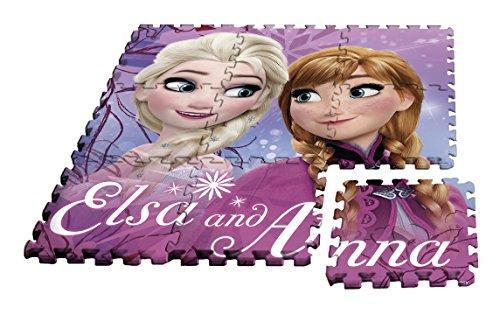 Kids Licensing-Un Tappetino in Schiuma Frozen in Formato Puzzle, wd17627