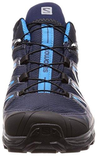 Salomon X Ultra 3 Gtx, Chaussures de Randonnée Basses Homme Gy / Night Sky / Hawaii