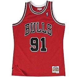 Camiseta Swingman Retro Dennis Rodman Mitchell & Ness Talla M