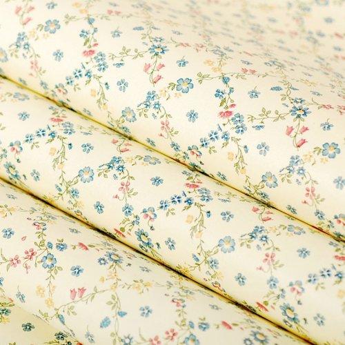 Zhzhco Verdickung Pvc Selbstklebend Tapeten Mit Dekorativen Leim Hintergrund Tapete Wasser Wild Schlafzimmer Wohnzimmer Aufkleber 45Cm*10M