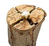 Garden Mile Resistente 1.5kg madera granada Tronzadora en forma de diamante 4 SIDED madera Separador Cuña