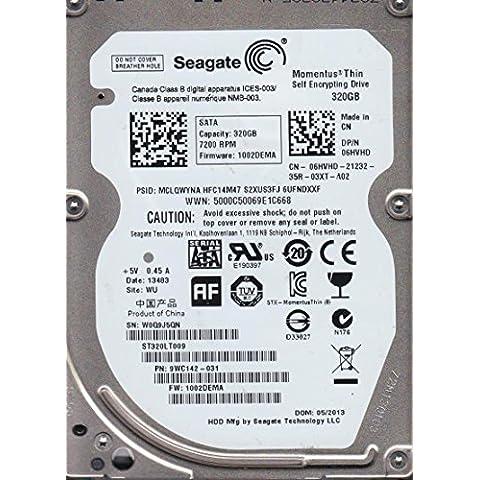 Dell ST320LT000 Seagate - Disco duro SATA autoencriptable para Optiplex 990 y otros modelos (320 GB, 2,5