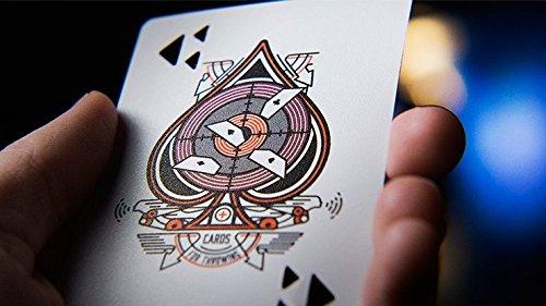 Banshees Advanced-Cards for Throwing, Original Wurfkarten aus Amerika, Kartenwerfen, Kartenwurf-Deck, mit Sound beim Wurf, Robust, Präzise, Shot Karten, Super Throw Karten