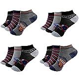 12 Paar Kids Jungen Socken Kinder Sneaker Strümpfe 85% Baumwolle Bunt Gr. 27-39...