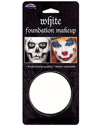 Clown Up Halloween Make (Weisses Make-up)