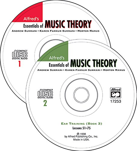 Alfred's Essentials of Music Theory, Bk 1-3: Ear Training, 2 CDs