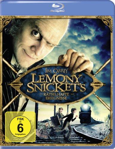 Lemony Snicket - Rätselhafte Ereignisse [Blu-ray] (Jim Carrey-filme Blue Ray)