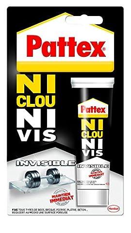 """Pattex """"Ni clou ni vis"""" Chrono Invisible Tube 40 g"""