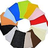 Bada Bing 70er Sparset Filz Bastelfilz Filzmatten DIY Basteln Nähen Kinder 30 x 20 cm Multicolor Bunt 14 Farben