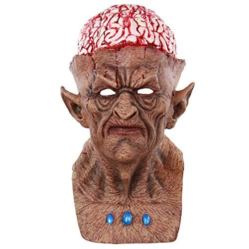 Upstudio Persönlichkeit Urlaub Halloween Masken Scary Latex Maske Teufel Cosplay Maske Scary Halloween Kostüme Halloween Party Supplies Gefälligkeiten Party bevorzugt Dekorationen