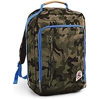 Zaino INVICTA - DAILY - VERDE camouflage - Ufficio e tempo libero - porta pc fino a 15.6'' - rain cover