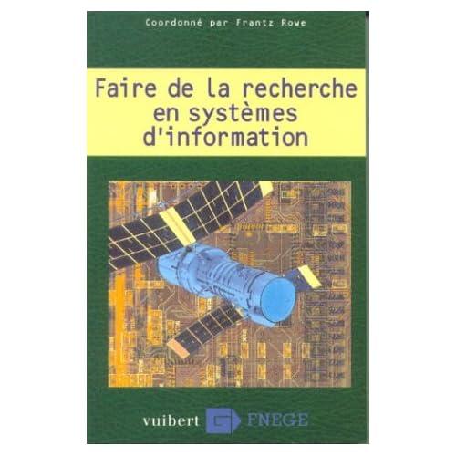 Faire de la recherche en systèmes d'information