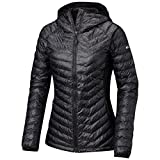 Columbia Women's Powder Lite Light Hooded Puffer Jacket, Hi-Loft Synthetic Insulation,