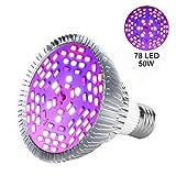 E27 30W/50W/80W Grow Led Luci per PianteLED Illuminazione Grow Lampada Light Livello Dimmerabili Luci Impianto per Pianti Frutta Verdure Fiore per Serra ( Edition : 50w )