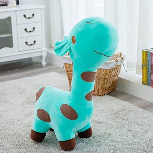 Y&Y Sofa stuhlsitz Kid,Plüsch reiten Kidd Sofa Giraffe Tier Kind Spielzeug Kindermöbel für Junge mädchen Geburtstagsgeschenk-Grün 19.6in (Jungen Spielzeug Reiten)